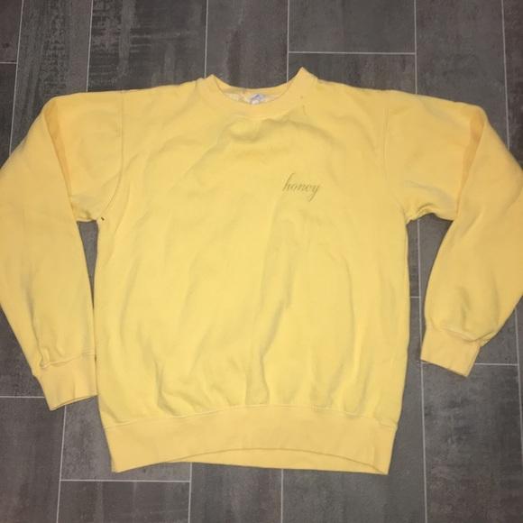 Brandy Melville Sweaters Honey Sweatshirt Small Poshmark